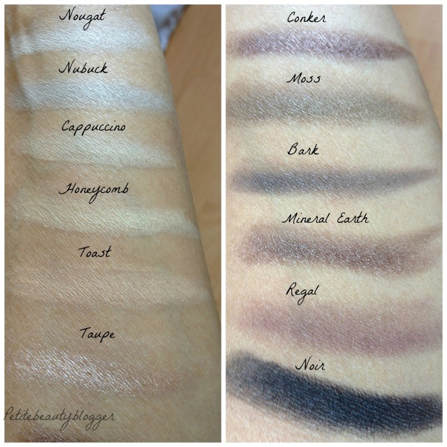 Sleek Au Naturel Eyeshadow Palette Swatches